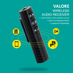 [Valore Challenger] Valore Wireless Audio Receiver (SA01)The Valore wireless audio receiver allows your Bluetooth enabled mobile devices to connect with your