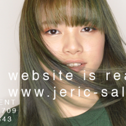 [Jeric Salon] Our new website is up, find out more about the recent deals in www.