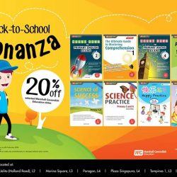 [Times bookstores] Get 20% off selected Marshal Cavendish Education titles!
