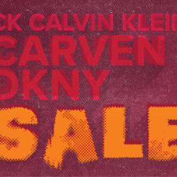 [American Express] From 12 – 14 January, visit CK Calvin Klein, Carven, and DKNY at ION Orchard to enjoy discounts up to 80%