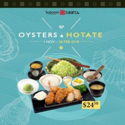 [Millenia Walk] Now is the perfect time to dine at Saboten.