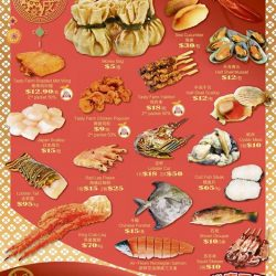 [THE SEAFOOD MARKET PLACE BY SONG FISH] We at Song Fish are always looking forward to the annual Lunar New Year Warehouse Sale where we can drown