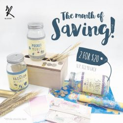 [KLOSH] Let's start saving at the beginning of the year!