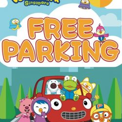 [Pornro Park Singapore] Enjoy 3 hours of FREE parking Marina Square for the first 30 customers daily at Pororo Park Singapore!
