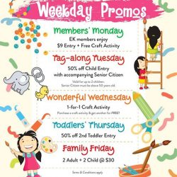 [eXplorerkid] If you're feeling blue today, check out our weekday promos for a little perk me up!
