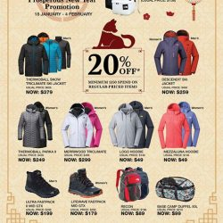 [LIV ACTIV] THE NORTH FACE PROSPEROUS NEW YEAR PROMOTION IS NOW ON AT LIV ACTIV!