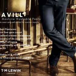 [T. M. Lewin] The Cavill pants is your ideal choice for the New Year.