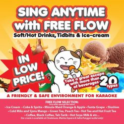 [Manekineko Karaoke Singapore] Escape your daily race with time and enjoy the moment of fun in Manekineko!