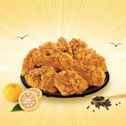[Texas Chicken] Our clever Yuzu Ninja knows of your plans to share with friends and has an incredible deal of 8 pcs