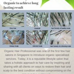 [Organic Hair Professional] Contact us now for a consultation if you are facing hair loss or other hair & scalp issues!