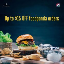 [Singtel] Order your favourite meal and have it delivered by foodpanda!