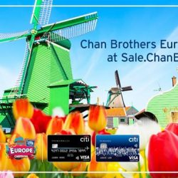 [Citibank ATM] Get up to $1,400 off per couple, 50% off 2nd pax & more at Chan Brothers Europe Carnival with your
