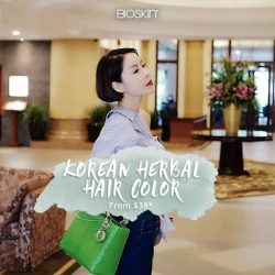 [Bioskin/AbsTrim] To usher In 2018, we're unveiling our brand new service - Korean Herbal Hair Color!