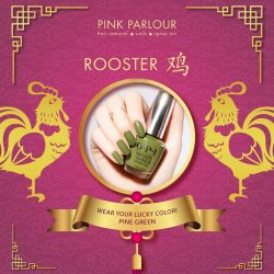 [Pink Parlour] Wear your colors for wealth and prosperity this year of the dog!