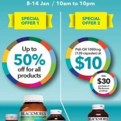 [Compass One] Grab this special deals at Guardian roadshow at Level 2 atrium from 8 to 14 Jan 2018.