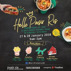 [Foodfare] Join us at Pasir Ris Central Hawker Centre​ this weekend for a fun-filled day with your family & friends!