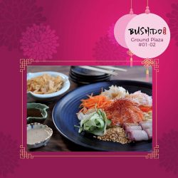 [Marina Bay Link Mall] Toss to prosperity this Lunar New Year with a wide selection of Yu Sheng dishes from Marina Bay Link Mall!