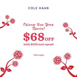 [Cole Haan] Here's a reason to spoil yourself with a new pair of shoes this Chinese New Year!