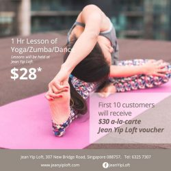 [Enjoy by Jean Yip] We are opening more workout classes, come join us!