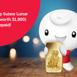 [Singtel] Top up with Singtel Prepaid this January to receive FREE 500MB and stand to win a 1oz Pamp Suisse Lunar