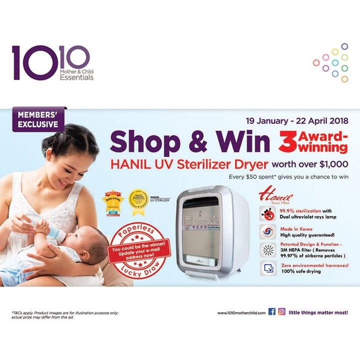 [10 10 Mother & Child Essentials] From TODAY until 22 April, we're offering a HUGE member's exclusive!  - 👑BQ.sg BargainQueen