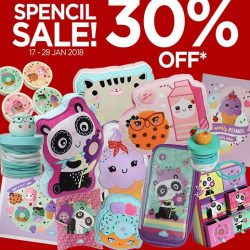 [Papermarket] From now till 28 January, there will be a 30% off regular-priced Spencil Products!
