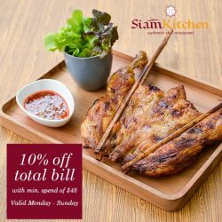 [Siam Kitchen] Start your 發-tastic new year with Siam Kitchen!