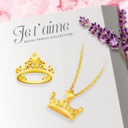 [CITIGEMS] Pamper the queen of your heart this Valentine's Day with 999 Pure Gold Le Royale Collection.