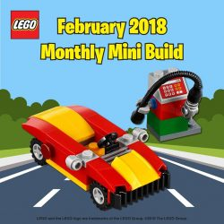 [The Brick Shop] February Monthly Mini Model Build!