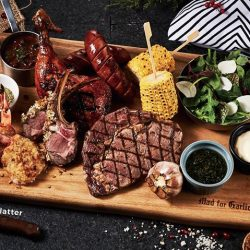 [Mad for Garlic] Meat lovers, we've got a platter that is sure to satisfy your cravings.