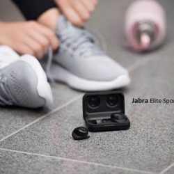 [Stereo] The NEW and IMPROVED Jabra Elite Sport with 50% more battery life.