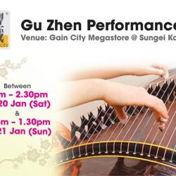 [Gain City] As we're gearing up for CNY, we're treating you to Gu Zhen performances over at the Gain City