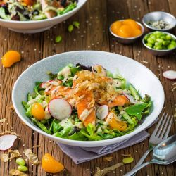 [redpan] Salads have long been associated with multiple health benefits, given that they are a natural source of fiber, high in