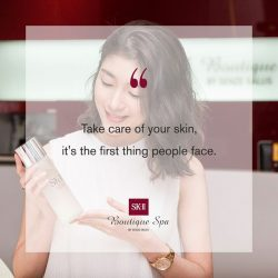 [SK-II Boutique Spa] Your face is the first thing people notice when they look at you.