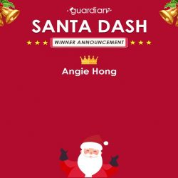 [Guardian] Congratulations to Santa's special helpers, Angie Hong, Nicole Foo and Yeoh Jun Jian.