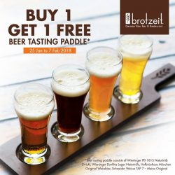 [Brotzeit German Bier Bar and Restaurant] SERVUS & HAPPY TGIF!