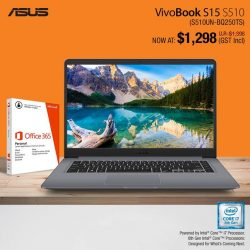 [ASUS] Kickstart your January by receiving $100 OFF when you purchase selected VivoBook S Series laptops from now till 4 February