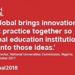 [British Council] Grow your network at GoingGlobal2018 to support your institutions international collaboration - register for your discounted ticket ASAP https://goo.