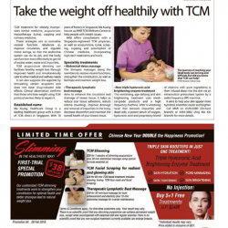 [Ma Kuang TCM Medical Centre] For many people, the journey of reaching your ideal body is a long and difficult one.