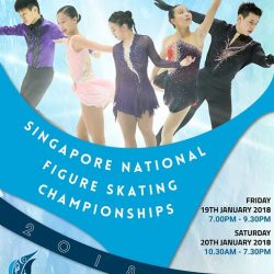[THE RINK] Get excited for 2018 Singapore National Figure Skating Championships happening here at The Rink on 19 Jan & 20 Jan (Fri &