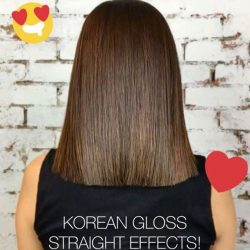 [Salon Vim] After a fresh coat of color + Korean Gloss Anti Frizz Treatment customised with a straightening effect by leading stylist @aaron_hiew1984 👍🏻