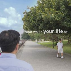 [Citibank ATM] Singaporeans could expect to live longer.