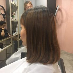 [Pro Trim Hair Salon] Shoulder Length + J Curve = Maintenance-free, airy, hassle-free and guaranteed Curve-in look by Tino Isaac @ Pro Trim Flagship