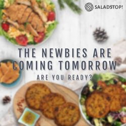 [Salad Stop] We feel like it would be wrong to start 2018 any other way!