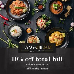 [Bangkok Jam] Kickstart the new year on a delectable note with Bangkok Jam ;) Enjoy a 10% discount* with your Maybank card from