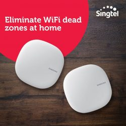 [Singtel] Enjoy the convenience of an automated smart home, with Samsung Connect Home smart hub at just $12/mth.