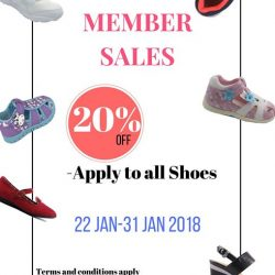 [Dr Kong] Don't miss the 20% off deal for all shoes!