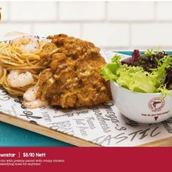 [The Manhattan FISH MARKET Singapore] So many choices just for tea!