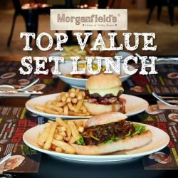 [Morganfield's] Can't decide what to have for lunch?
