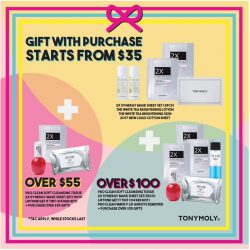 [Tony Moly Singapore] Even if you have missed out our first 3 days of promotions, Do not fear!
